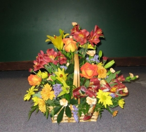 Basket Of Flowers - 0502