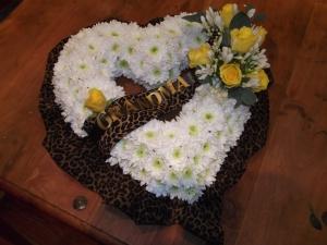 Bespoke Funeral Heart