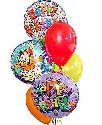 Big Big Birthday Balloon Bouquet