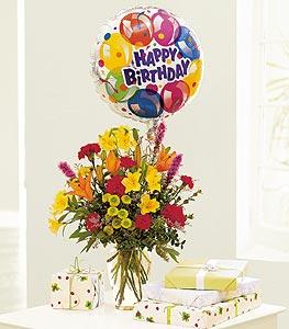 Birthday  & Balloon