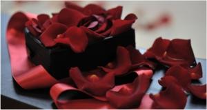 Box Of Rose Petals