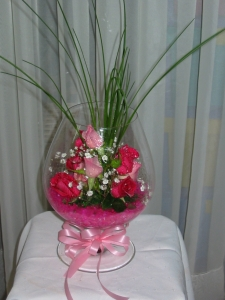 Brandy Glass Arrangement