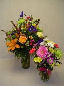 Bright Floral Gift In Vase