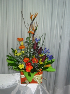 Bright Modern Arrangement In A Box