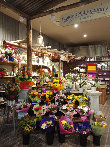 Bunch It With Country Florist