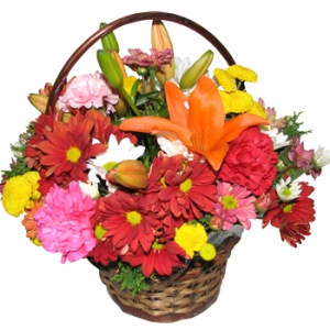Cadiz Flower Basket