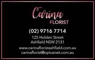 Carina Florist - Ashfield