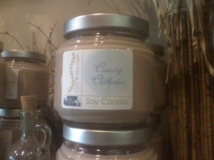 Caterpillar's All Natural Soy Candles