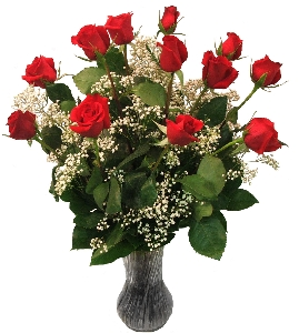 Classic Dozen Long Stemmed Red Roses
