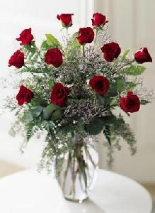 Classic Dozen Rose Arrangement
