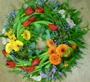 Cluster Wreath Tribute