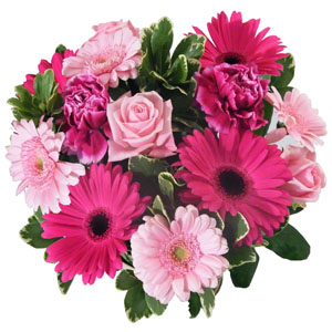 Colour Of Cerise Bouquet