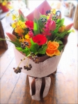 Colourful, Bright Bouquet