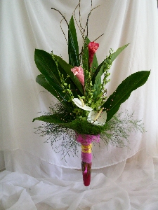 Contemporary Hand Tied Bouquet