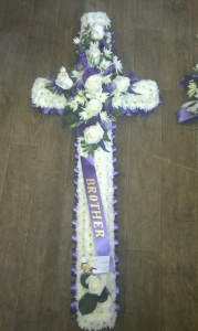 Cross Funeral Tribute