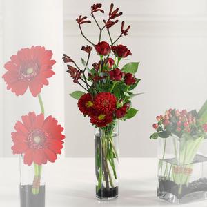 Modern Vase Of Flowers