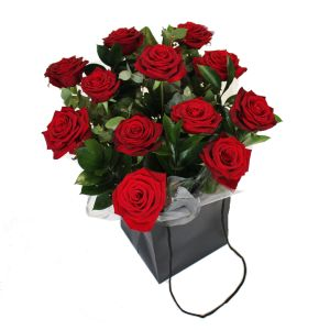 Carry Bag Red Roses