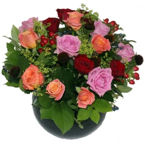Bright Rose Arrangement