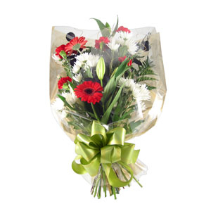 Gift Wrapped Bouquet