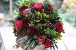 Deep Red And Pink Roses