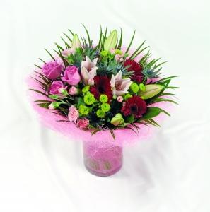 Deluxe Handtied Inc. Vase