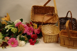 Designer's Choice Basket Arrangement