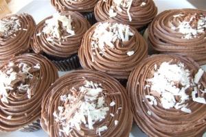 Double Choc Cupcake