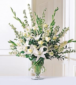Elegant In All White