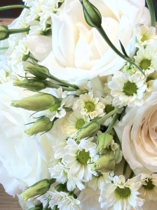 Elegant White Bouquet