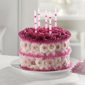 EV 82-11 Blooming Birthday Cake