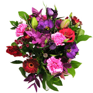 Exciting And Vibrant Bouquet