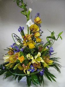 Exotic Orchid Arrangemet