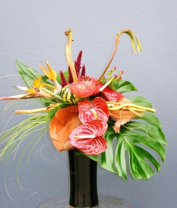 Exotic Vase Arrangement