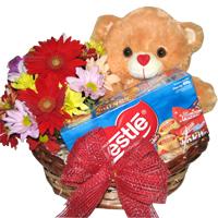 Flower Bear Basket