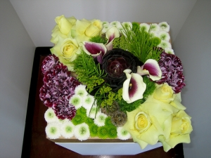 Flower Box Centerpiece