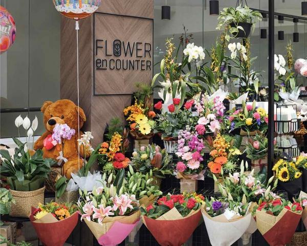 Flower En Counter