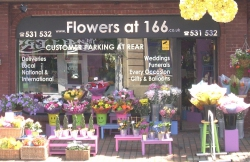 Flowers at 166