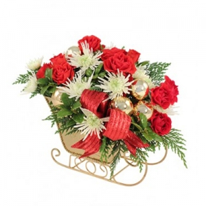 Order Golden Sleigh flowers