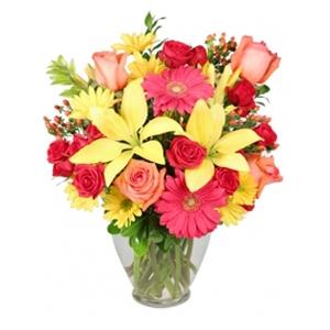 Order Happy Vase flowers
