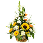 Traditional Flower Basket