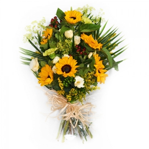 Order Funeral Flowers in Cellophane flowers