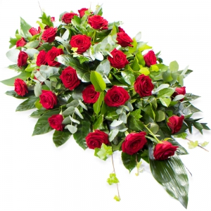 Order Coffin Spray (Red Roses) flowers