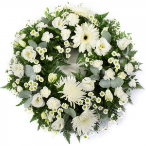 Order Wreath SYM-321 flowers