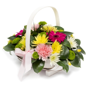Order Basket of Sunshine flowers