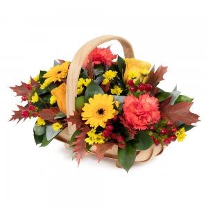 Order Autumn Hedgerow Basket flowers
