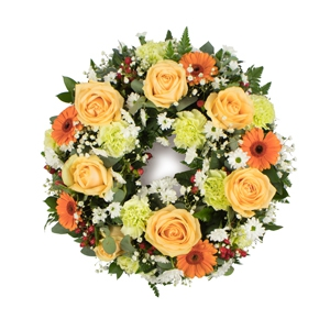 Order Wreath SYM-315 flowers