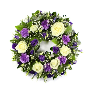 Order Wreath SYM-316 flowers