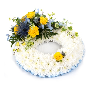Order Wreath SYM-319 flowers