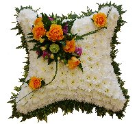 Foliage Edged Cushion