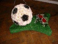 Football On Turf - Funeral Tribute